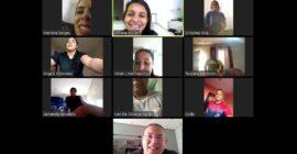Comissão técnica do GoalBall da APADV avalia treinamentos online durante pandemia