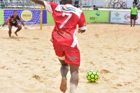 Campeonato Metropolitano de Beach Soccer no Espírito Santo