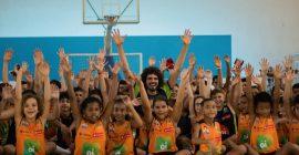 Projetos sociais do Instituto Anderson Varejão recebem aporte via Lei de Incentivo