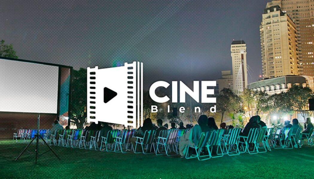 Cine Blend – Cinema a céu aberto