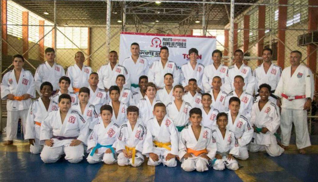 Com recursos captados via Lei de Incentivo ao Esporte, projeto Rumo ao Pódio já formou 240 judocas profissionais