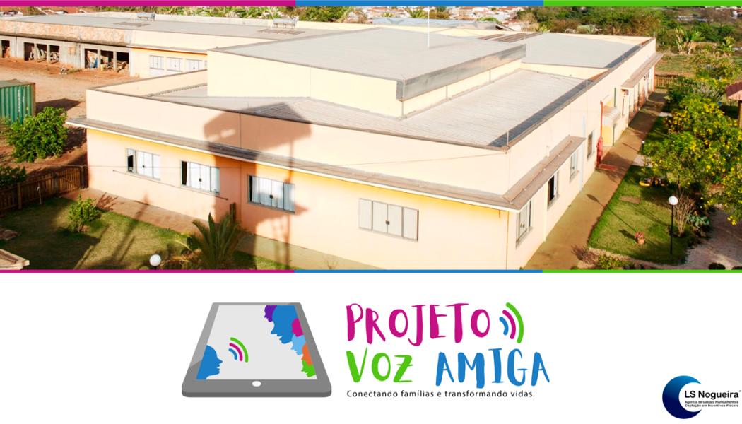 Fundação Toque + Projeto Voz Amiga